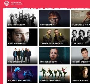 La playlist del Sziget Festival 2019