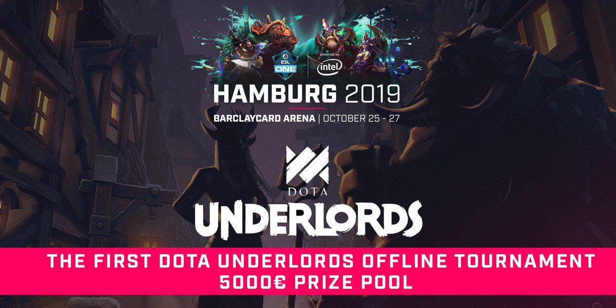 Dota Underlords celebrará su primer torneo presencial en ESL One Hamburg 2019