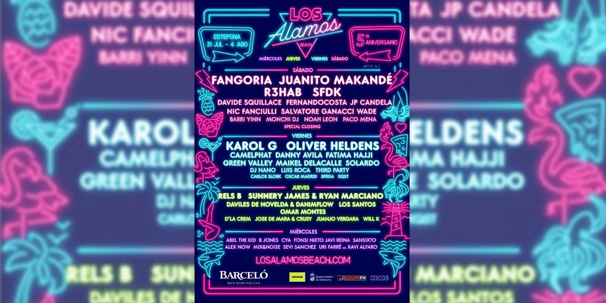 Los Álamos Beach Festival 2019