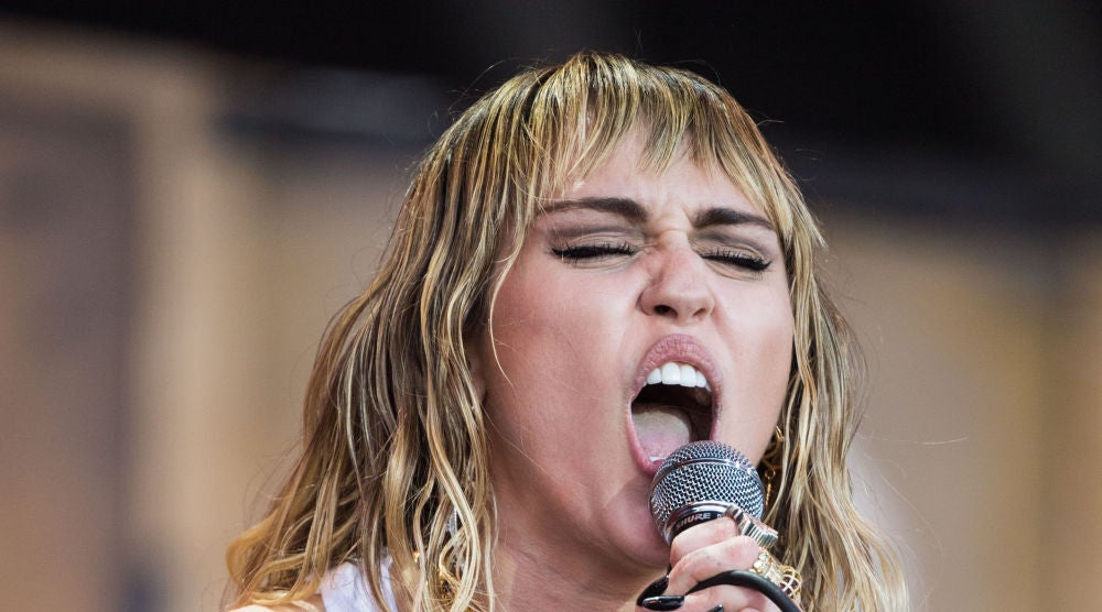 Miley Cyrus en el Glastonbury