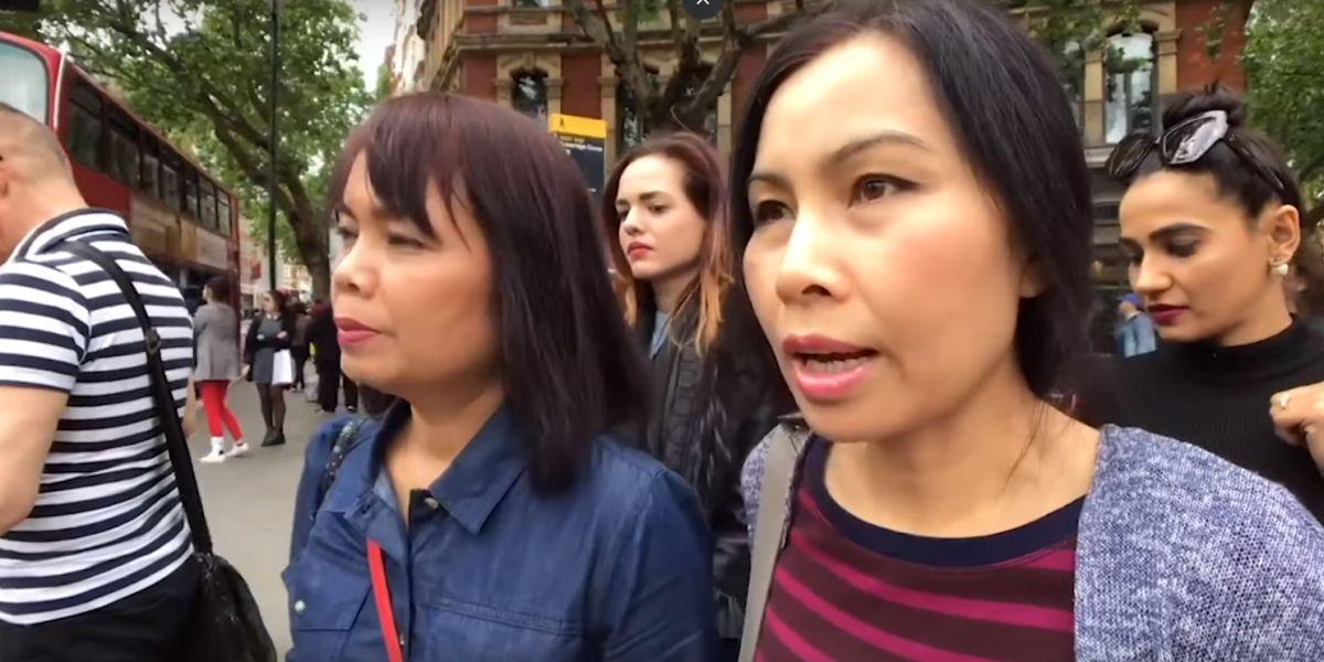 El vídeo viral que muestra a unas carteristas robando en Londres