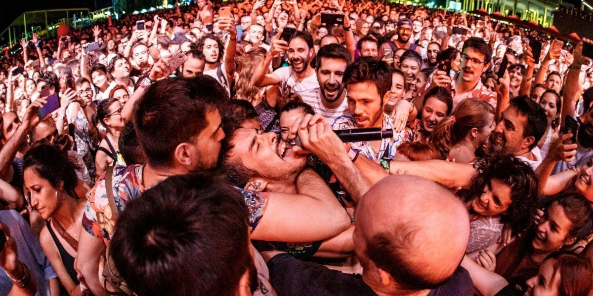 Vetusta Morla durante su concierto en el Cruïlla Barcelona 2019