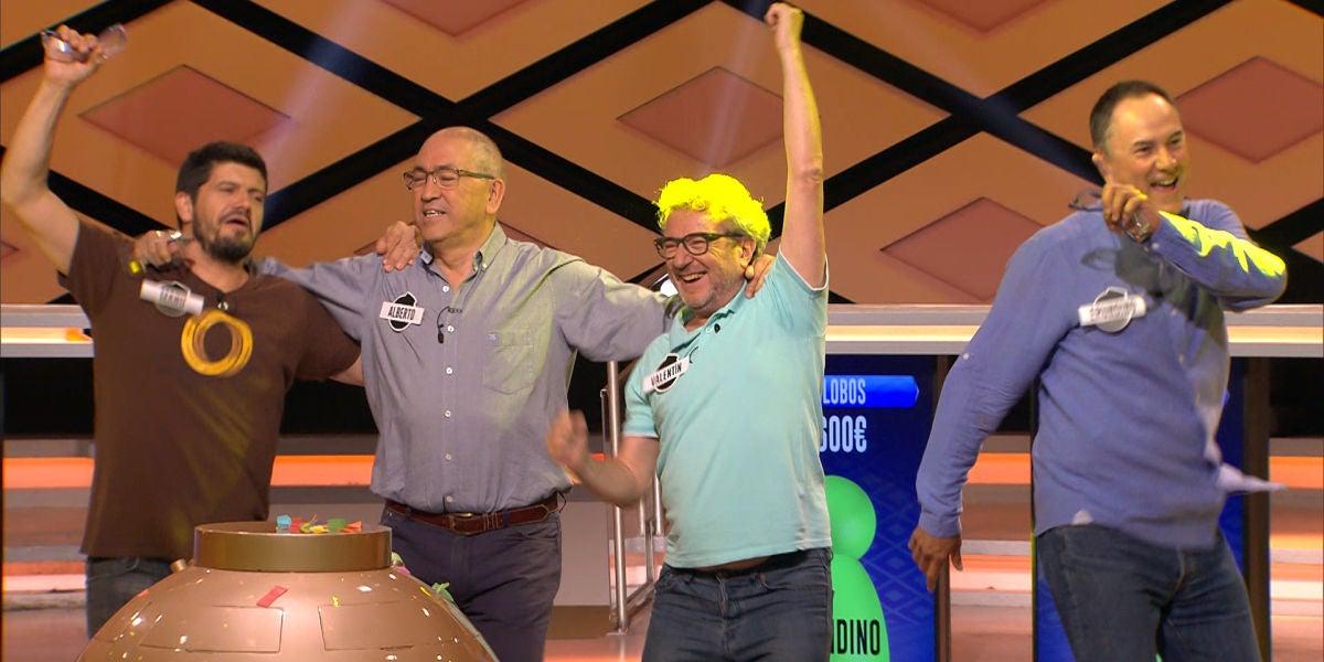 Las redes se vuelvan con el triunfo de 'Los Lobos' tras ganar el bote de 4.130.000€
