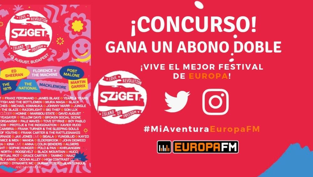 Concurso Sziget Festival 2019