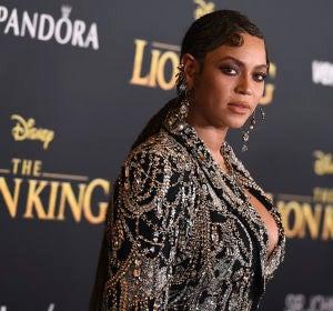 Beyoncé en la premiere de 'El Rey León'