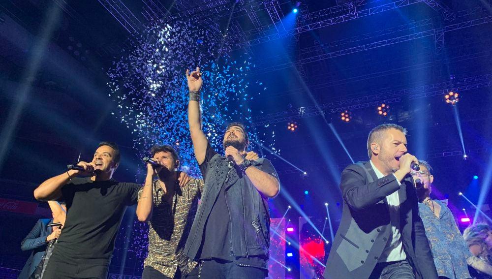 'La Voz' triunfa en un espectacular concierto lleno de emoción en el WiZink Center de Madrid