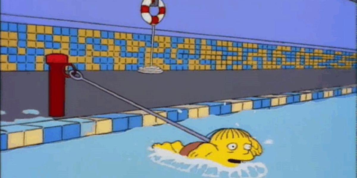 Frame de la serie de televisión Los Simpsons