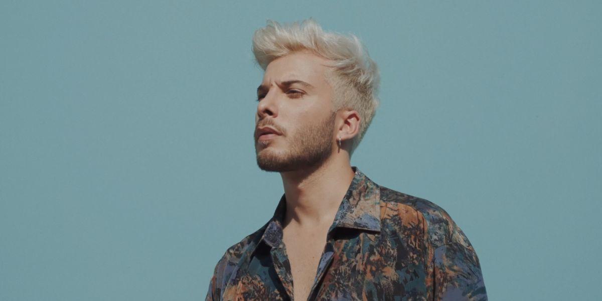 Blas Cantó en el videoclip de 'Si Te Vas'