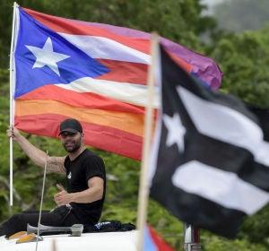 Ricky Martin pidiendo la dimisión del Gobernador de Puerto Rico