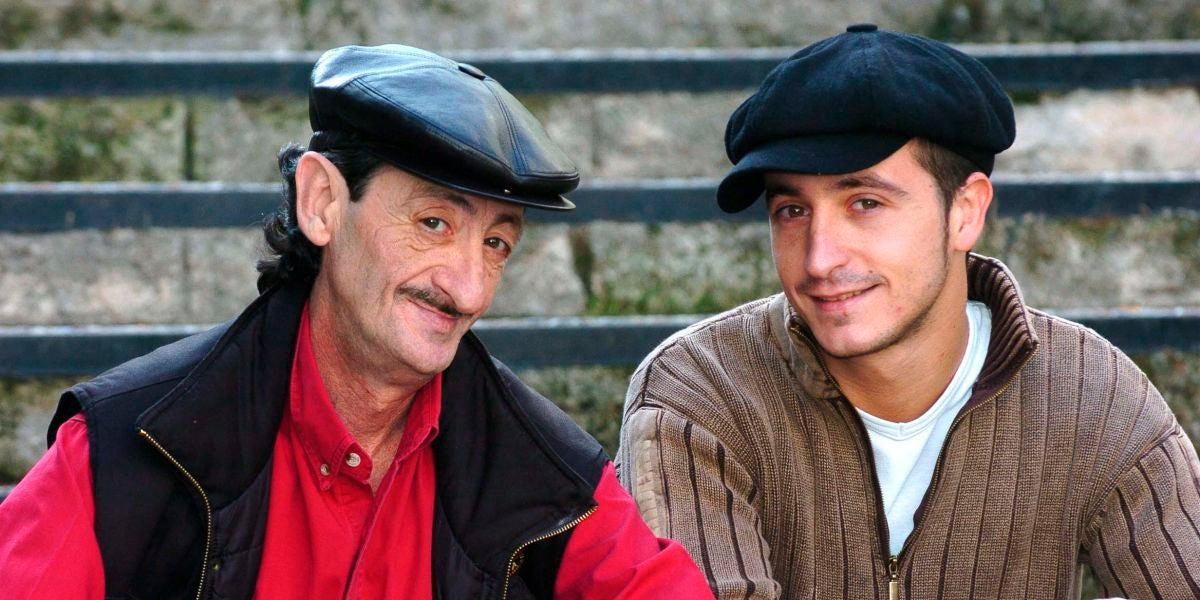 Eduardo Gómez y su hijo Héctor