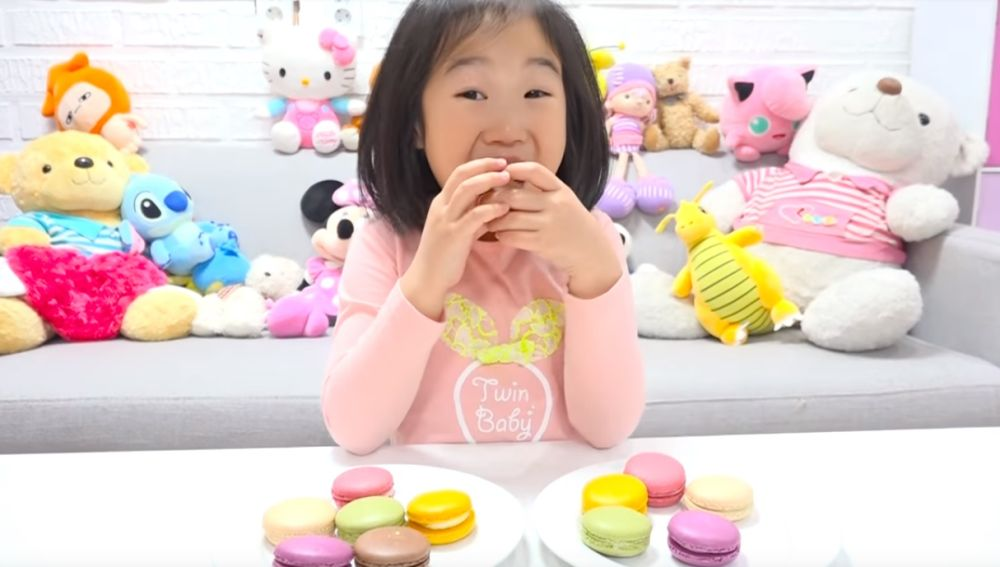 Boram, la youtuber coreana de seis años