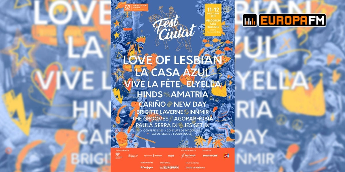 Cartel del Fest Ciutat de Palma