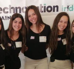 Las estudiantes madrileñas que han desarrollado la App