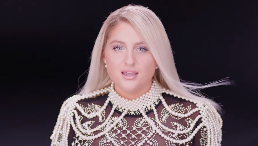 Meghan Trainor en el videoclip de 'With You'