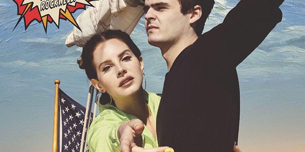 Portada de 'Norman Fucking Rockwell' de Lana del Rey
