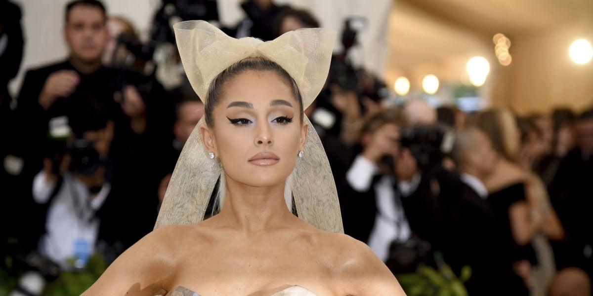 Ariana Grande en la MET Gala 2018