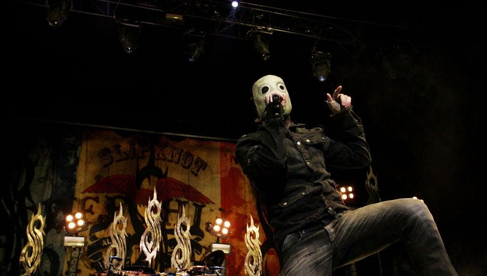 Slipknot durante un concierto