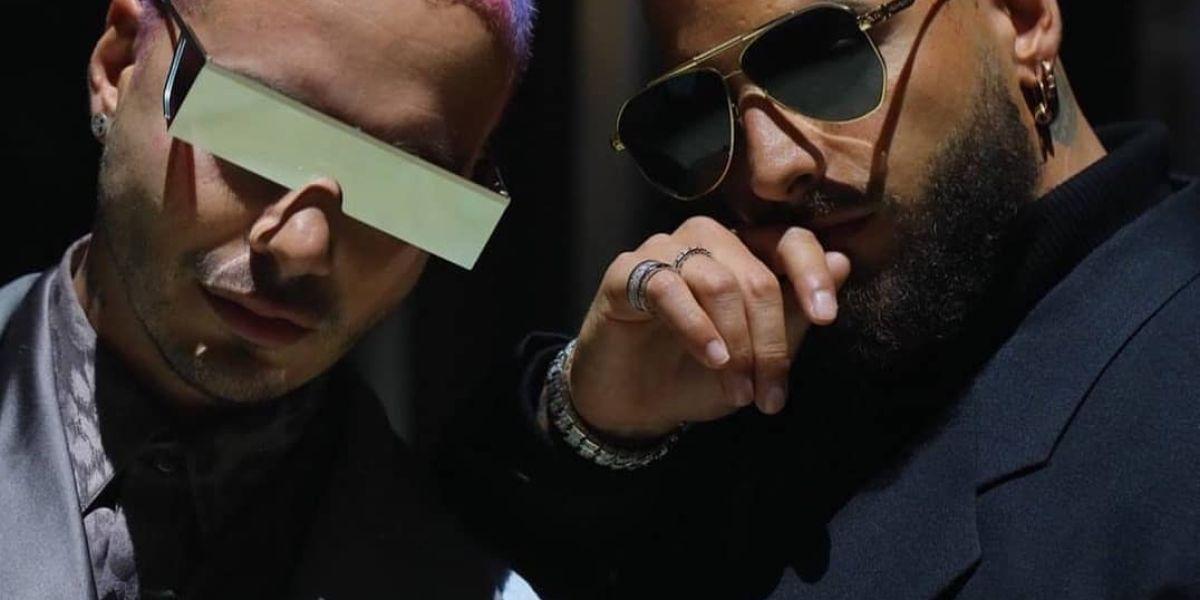 J Balvin y Maluma presentan su nueva colaboración 'Qué pena'