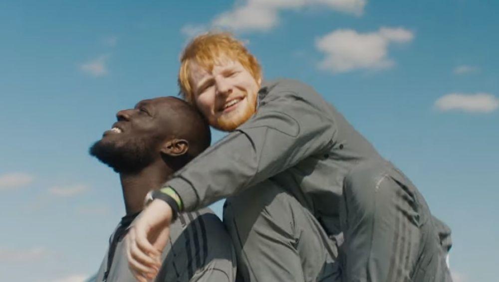 Stormzy y Ed Sheeran en el videoclip de 'Take me back to London'