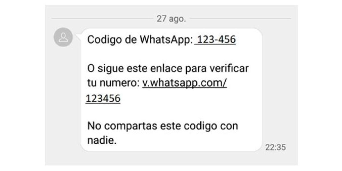 Estafa en Whatsapp