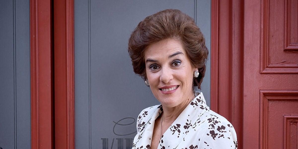 Anabel Alonso como Benigna en la octava temporada de 'Amar es para siempre'