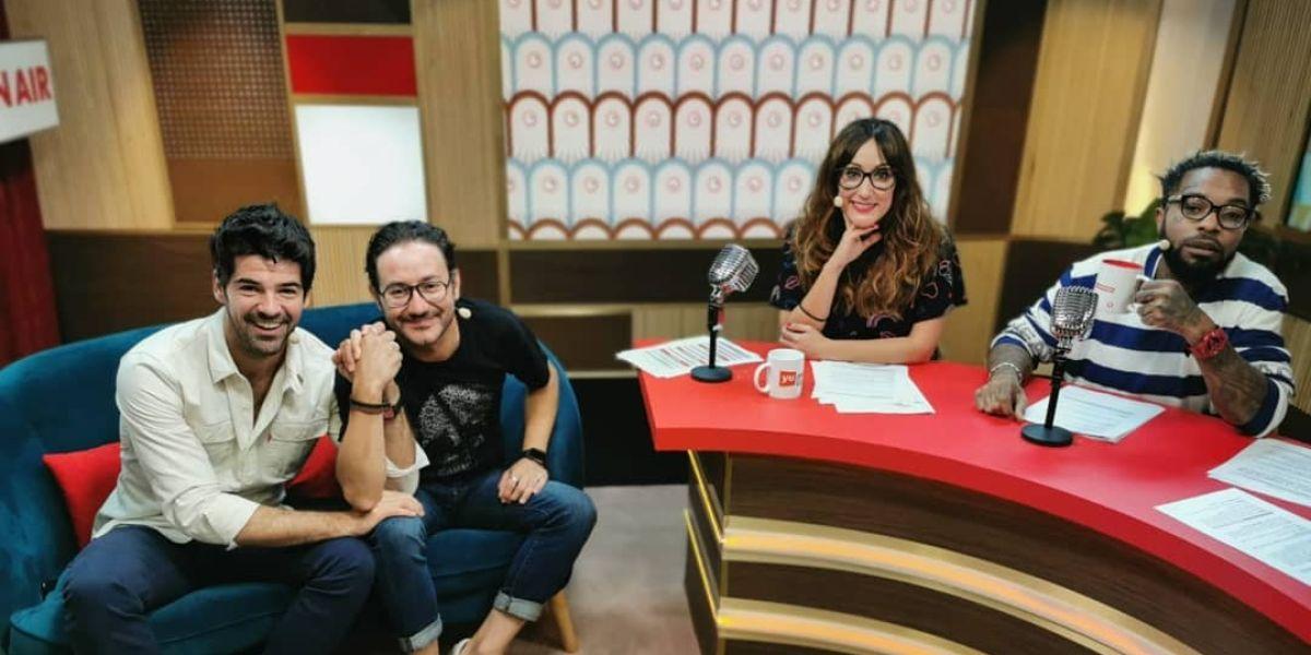 Miguel Ángel Muñoz y Carlos Santos, en 'yu, no te pierdas nada'