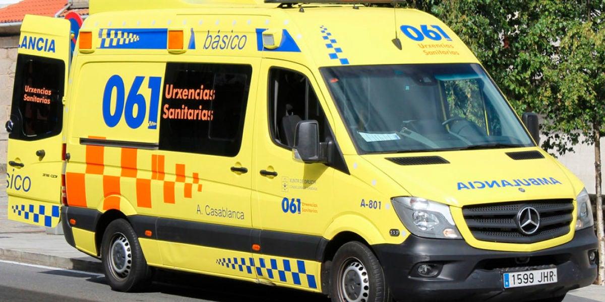 Ambulancia en Galicia (Archivo)