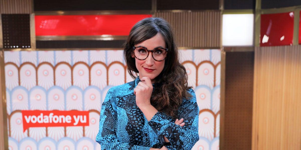Ana Morgade, presentadora de 'yu, no te pierdas nada'