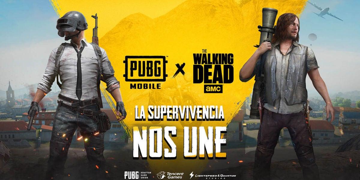 PUBG Mobile se une a The Walking Dead