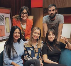 Ana Morgade recibe en el plató a Andrea Duro, Dafne Fernández y Verónica Perona