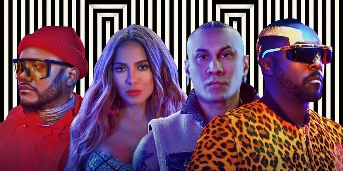 Anitta y Black Eyed Peas se unen en 'Explosion'