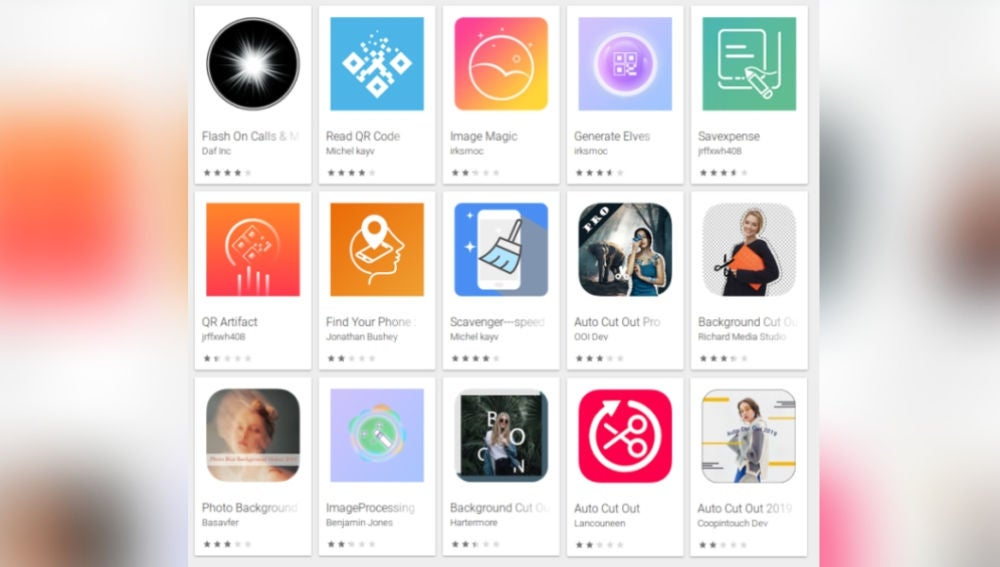 Las apps maliciosas