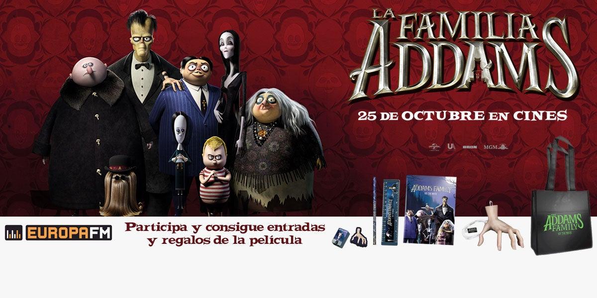 Concurso de La Familia Addams