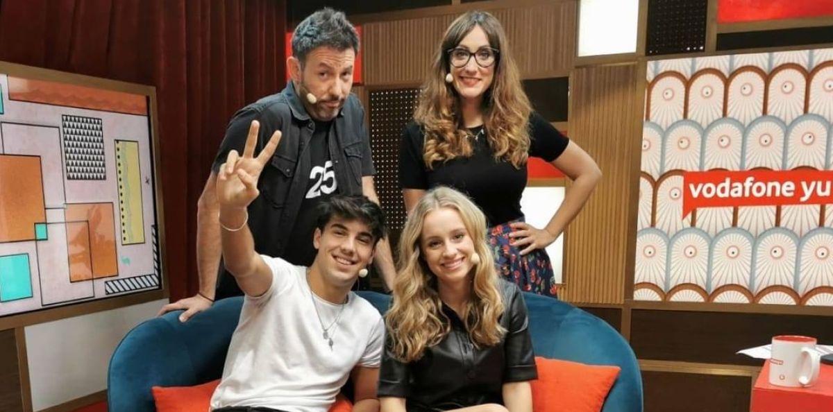 Óscar Casas y Sara Jiménez en 'yu, no te pierdas nada'