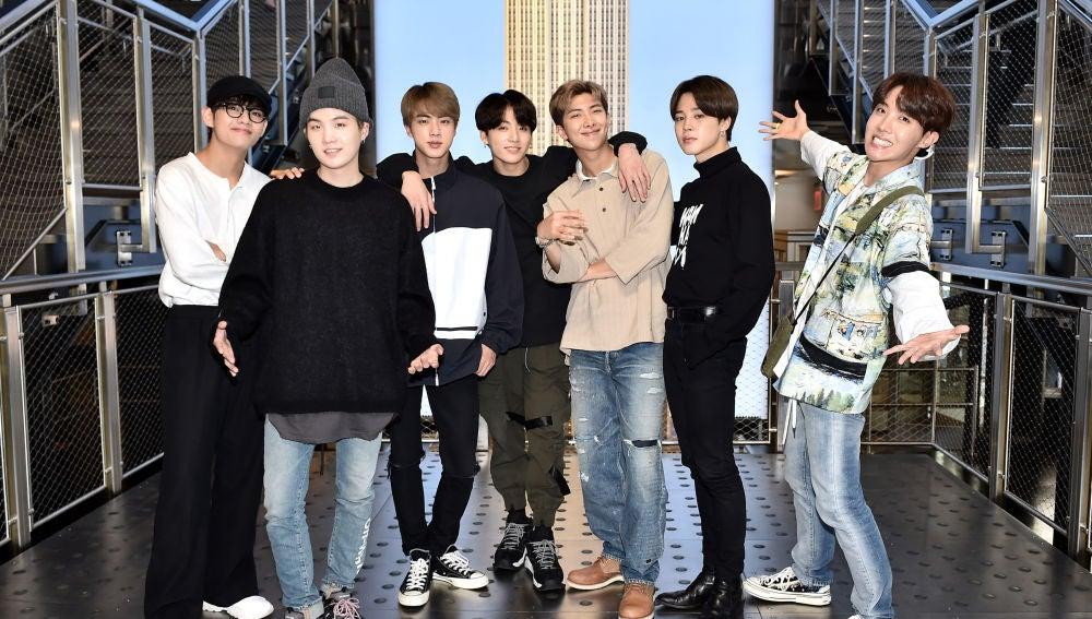 BTS, el grupo de K-pop más popular