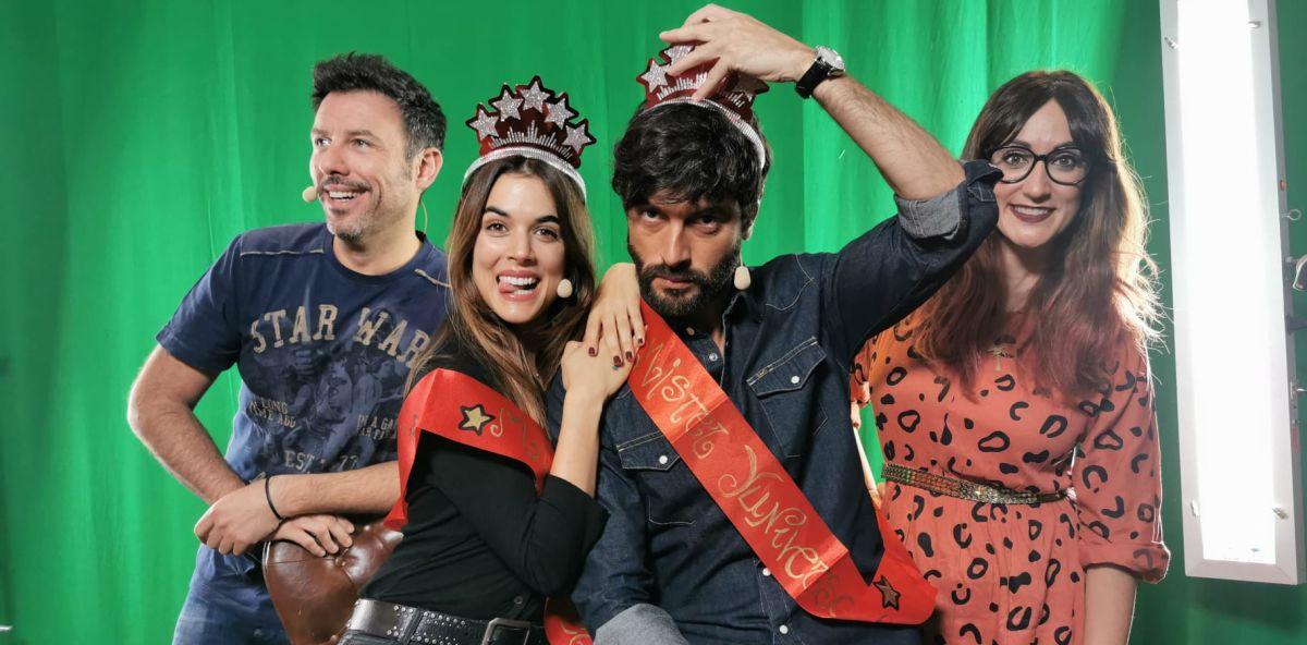 Javier Rey y Adriana Ugarte en 'yu, no te pierdas nada'