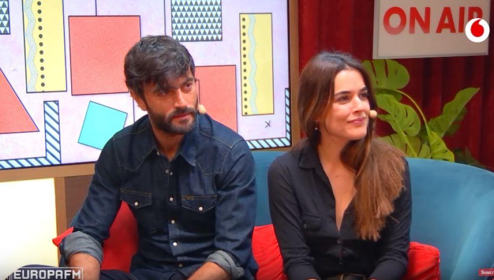 Javier Rey y Adriana Ugarte