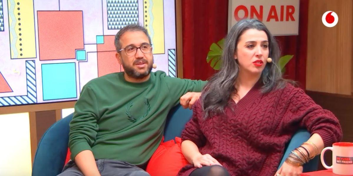 Aníbal Gómez y Marta Vaquerizo
