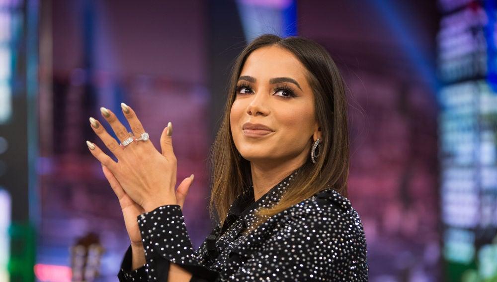 """Anitta recuerda en 'El Hormiguero 3.0' su infancia vivida en """"la calle del crimen"""" en Brasil"""