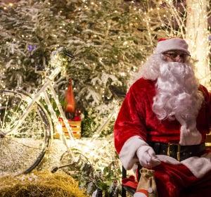 Papá Noel en Zagreb