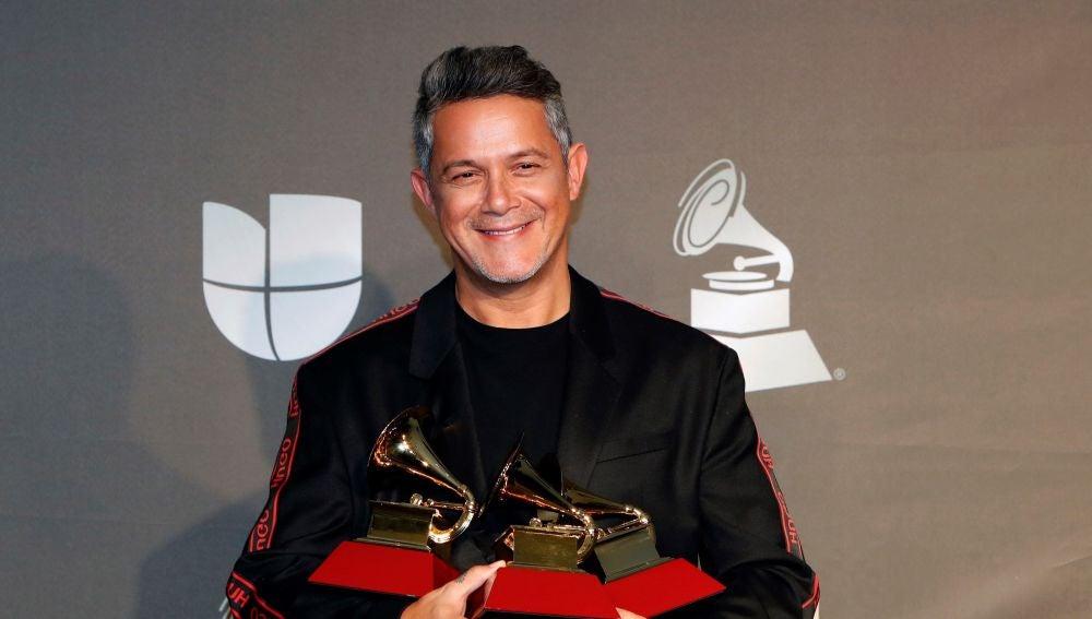 Alejandro Sanz, en los Latin Grammy
