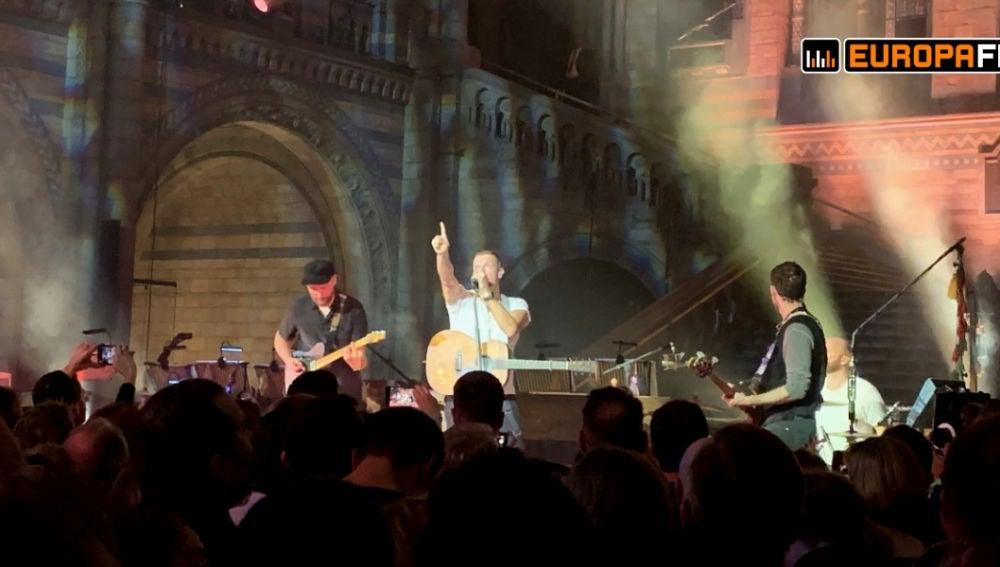 Concierto de Coldplay en Londres