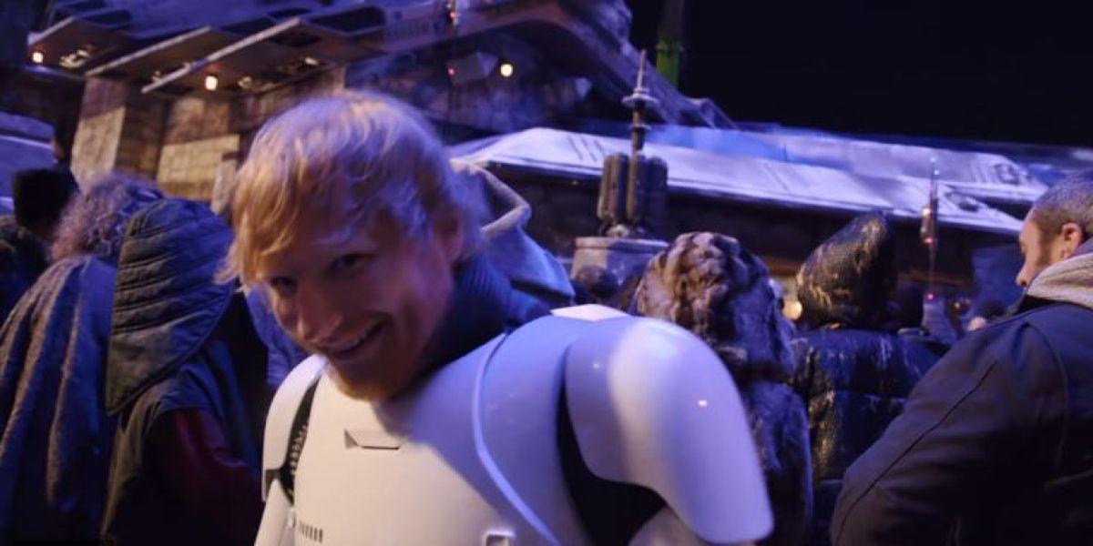 Ed Sheeran en Star Wars