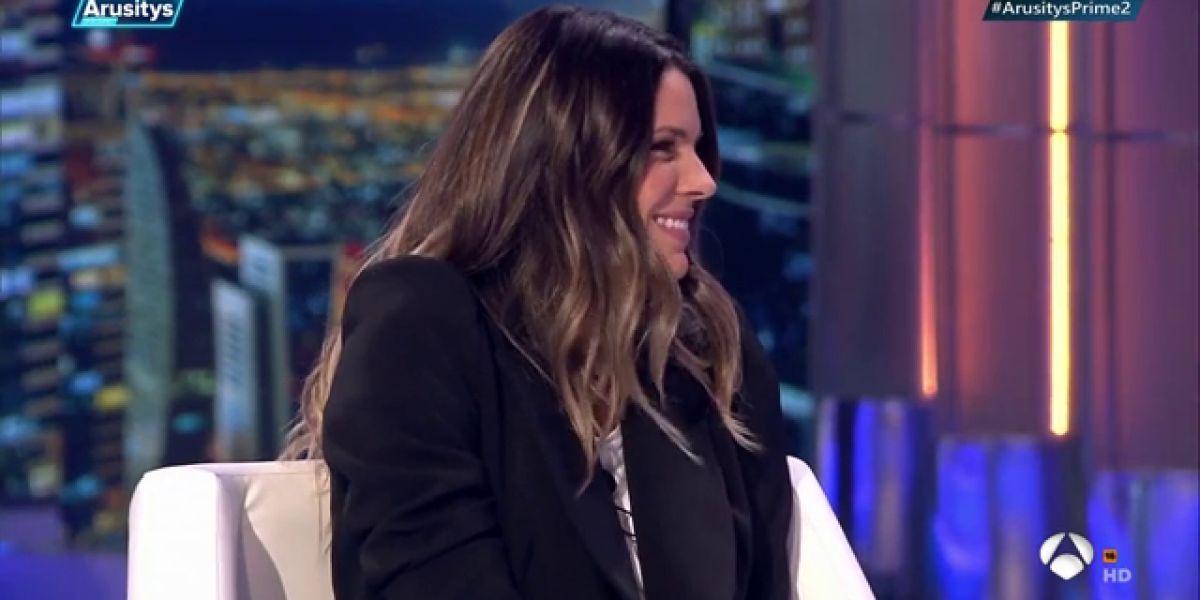 Laura Matamoros se somete a la rueda de prensa VIP de 'Arusitys Prime'