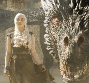 Emilia Clarke como Daenerys Targaryen en 'Juego de Tronos'