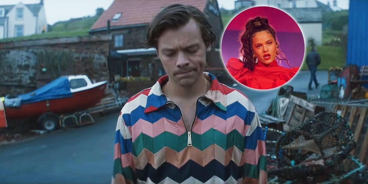Rosalía podría ser la narradora del tráiler de 'Adore You' de Harry Styles