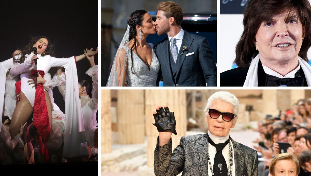 Rosalía, la boda de Sergio Ramos y Pilar Rubio, Camilo Sesto y Karl Lagerfeld, entre lo más buscado en Google en 2019