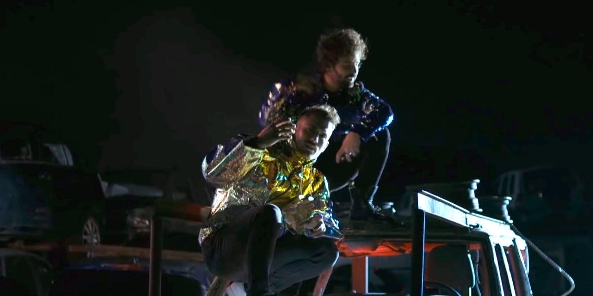 Arnau Griso en el videoclip 'Nada Que Añadir'