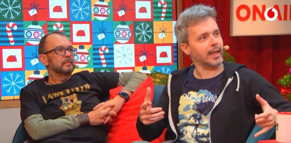 Arturo G Campos y Juan Gómez Jurado