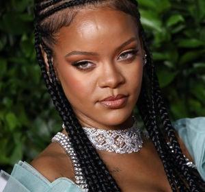 Rihanna en los Premios de la Moda en Londres